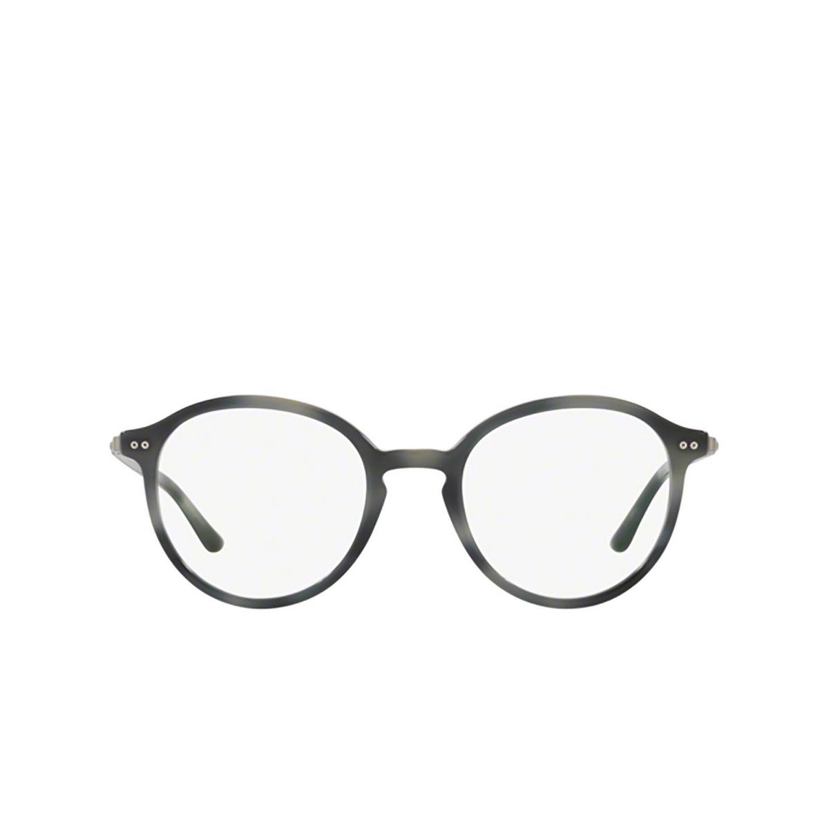 Giorgio Armani® Round Eyeglasses: AR7124 color 5572 - front view.