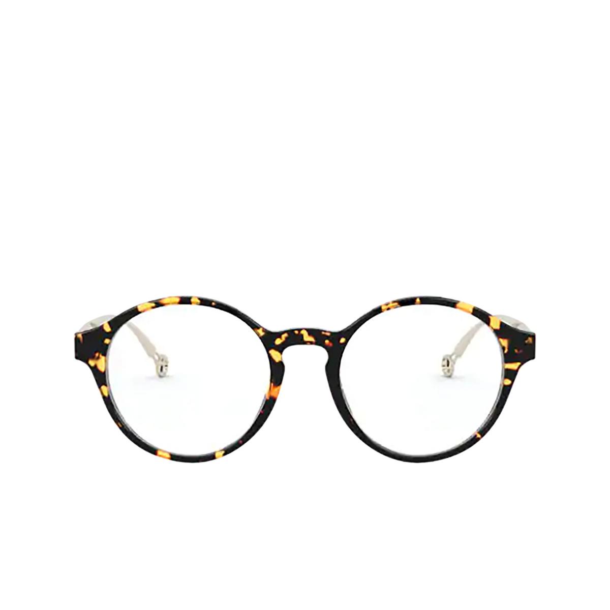 Giorgio Armani® Round Eyeglasses: AR7184 color Havana 5294 - front view.