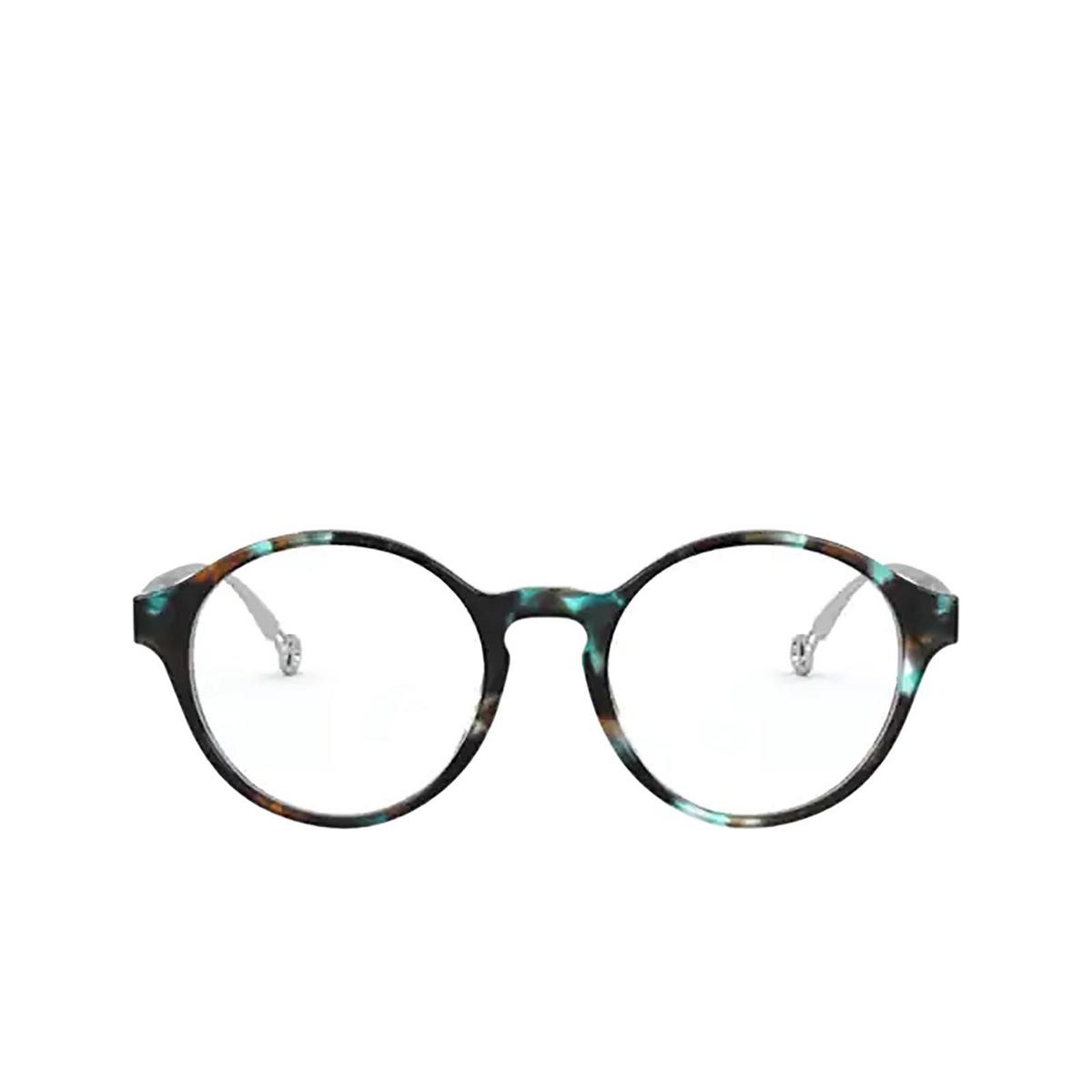 Giorgio Armani® Round Eyeglasses: AR7184 color Blue 5815 - front view.