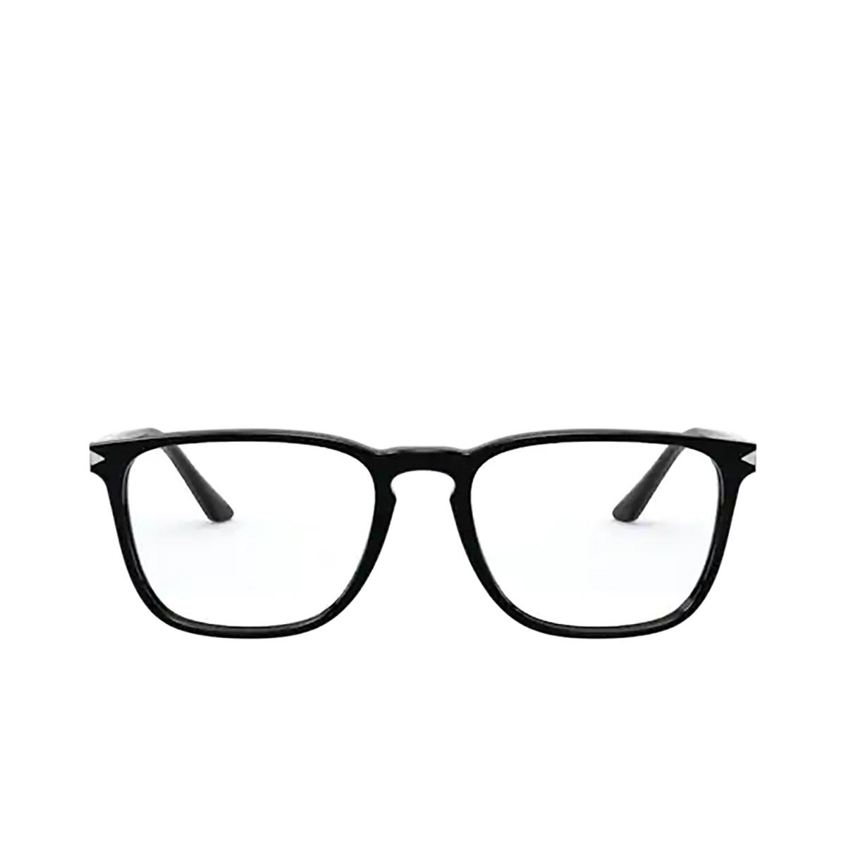 Giorgio Armani® Square Eyeglasses: AR7193 color Black 5001 - front view.