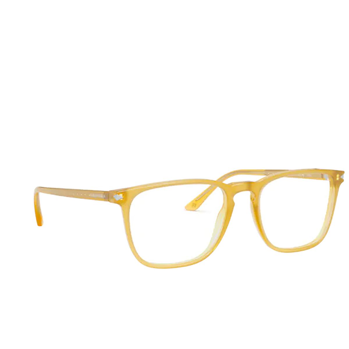 Giorgio Armani® Square Eyeglasses: AR7193 color Honey 5027 - three-quarters view.
