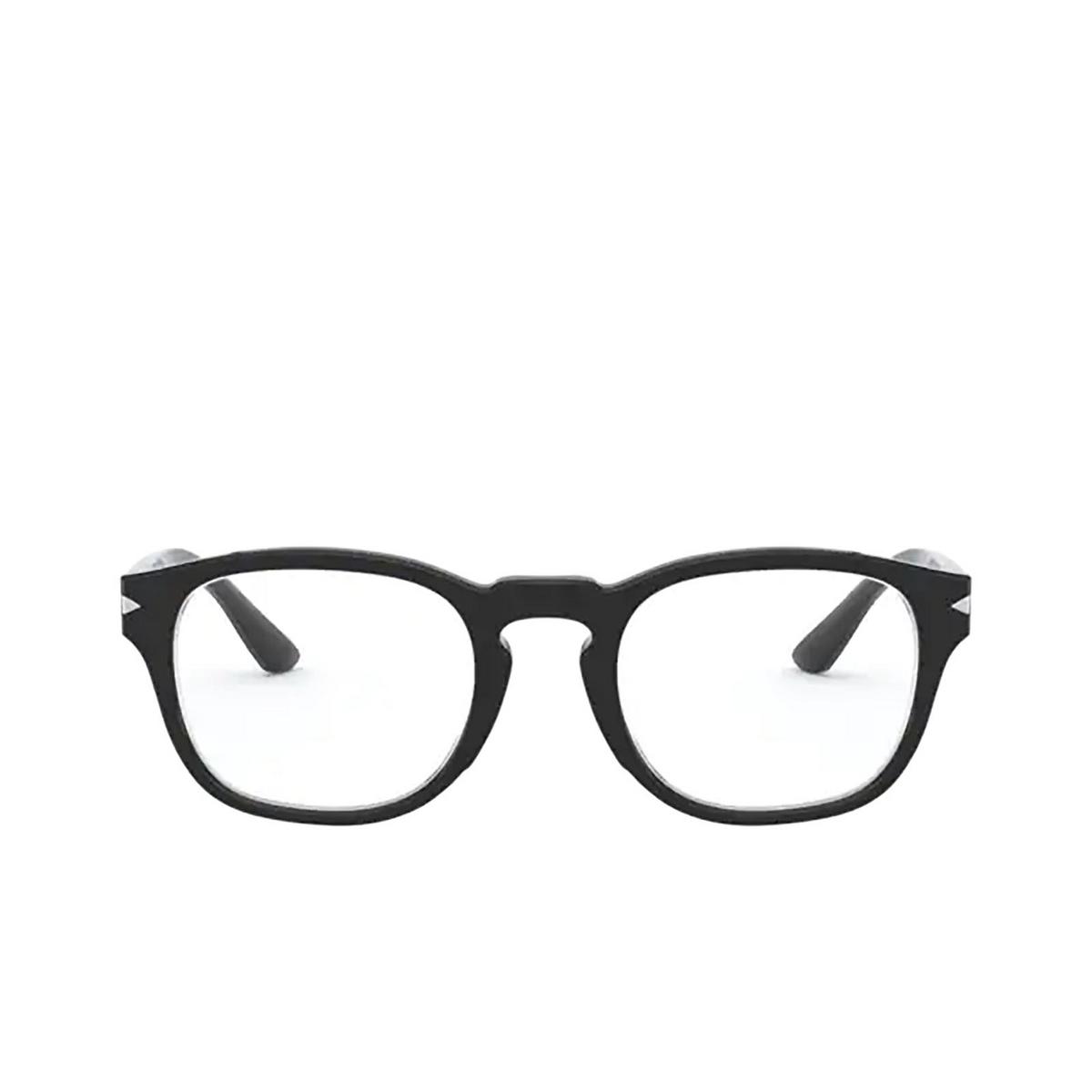Giorgio Armani® Square Eyeglasses: AR7194 color Black 5001 - front view.