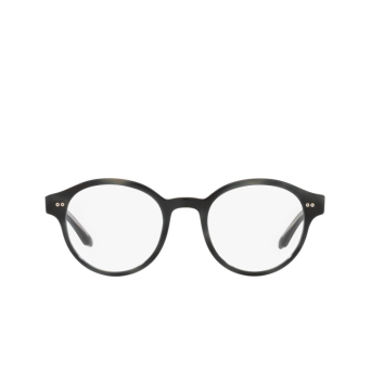 Giorgio Armani® Round Eyeglasses: AR7196 color Black 5001.