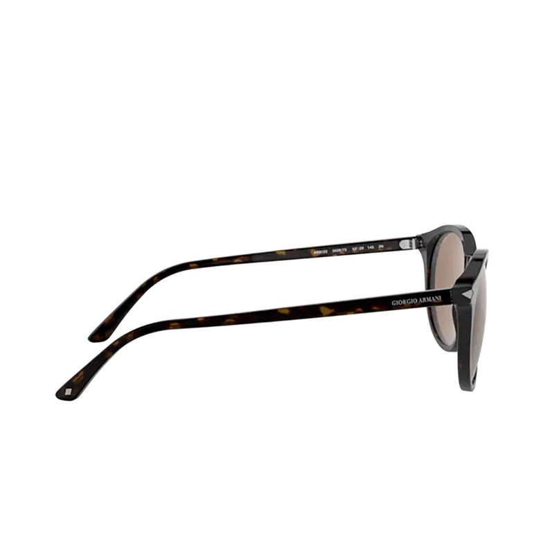 Giorgio Armani® Round Sunglasses: AR8122 color Havana 502673.