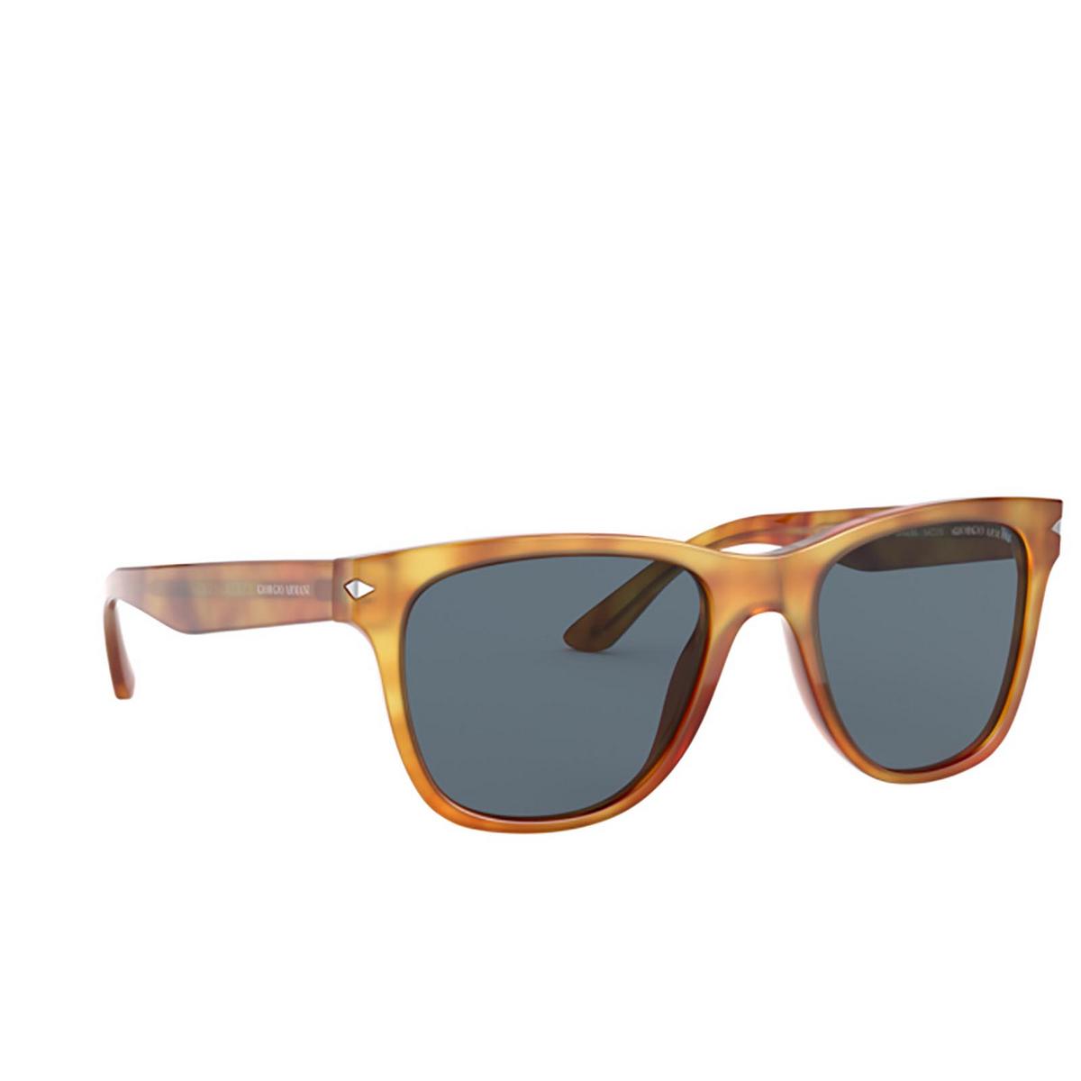 Giorgio Armani® Square Sunglasses: AR8133 color Thatch Havana 584980 - three-quarters view.