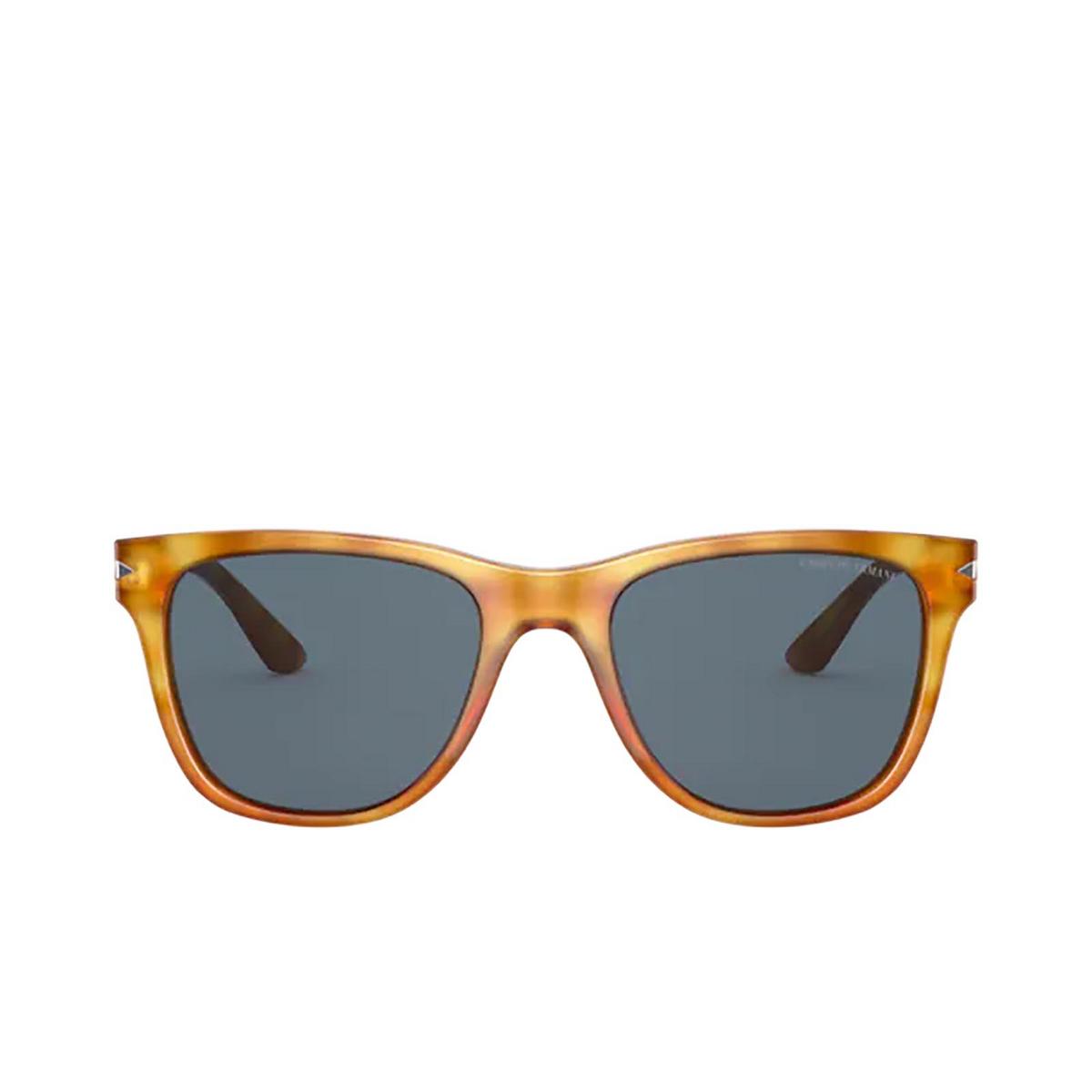 Giorgio Armani® Square Sunglasses: AR8133 color Thatch Havana 584980 - front view.
