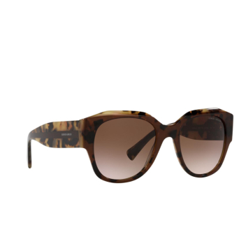 Giorgio Armani® Square Sunglasses: AR8140 color Brown Tortoise 586713.