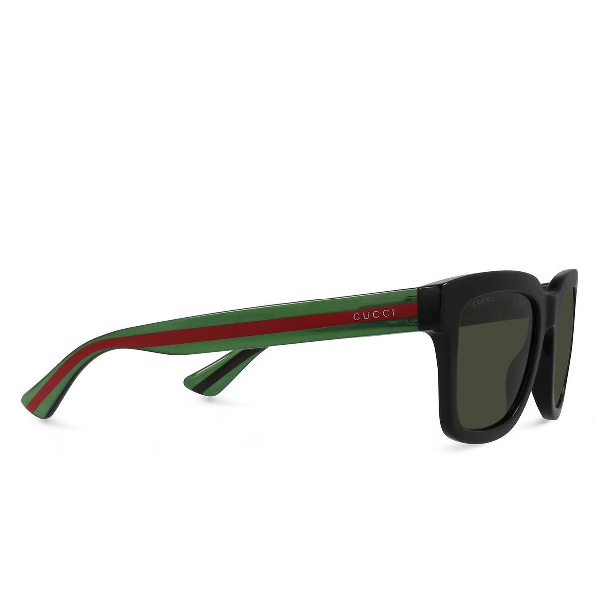 Gucci® Square Sunglasses: GG0001S color Black 001 - 2/3.