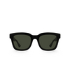 Gucci® Square Sunglasses: GG0001S color Black 001 - product thumbnail 1/3.