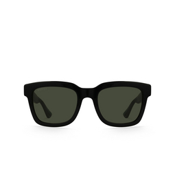 Gucci® Square Sunglasses: GG0001S color Black 001.