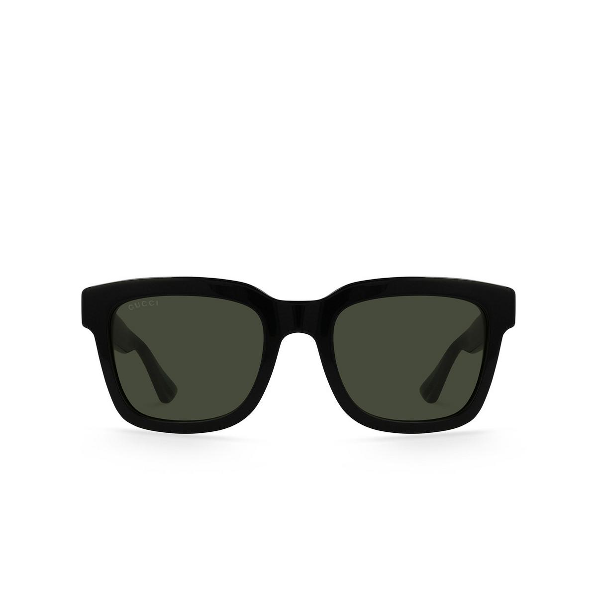 Gucci® Square Sunglasses: GG0001S color Black 001 - 1/3.