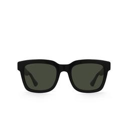 Gucci® Square Sunglasses: GG0001S color Black 002.