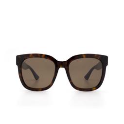 Gucci® Sunglasses: GG0034S color Havana 004.