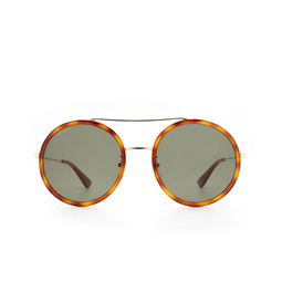 Gucci® Sunglasses: GG0061S color Gold 002.