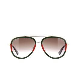 Gucci® Sunglasses: GG0062S color Gold 008.