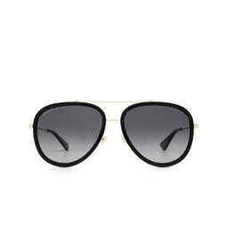 Gucci® Sunglasses: GG0062S color Gold 011.