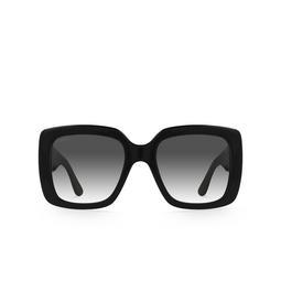 Gucci® Square Sunglasses: GG0141S color Black 001.