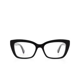 Gucci® Eyeglasses: GG0165O color Black 001.