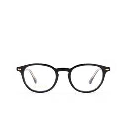 Gucci® Eyeglasses: GG0187O color Black 001.