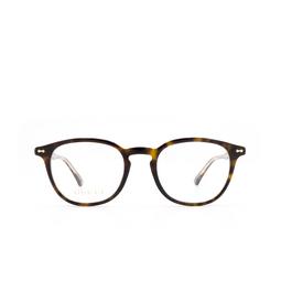Gucci® Eyeglasses: GG0187O color Havana 006.