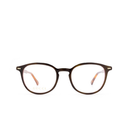 Gucci® Eyeglasses: GG0187O color Havana 010.