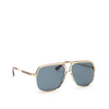 Gucci® Aviator Sunglasses: GG0200S color Transparent Brown 004 - product thumbnail 2/3.