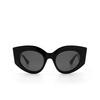 Gucci® Cat-eye Sunglasses: GG0275S color Black 001 - product thumbnail 1/3.