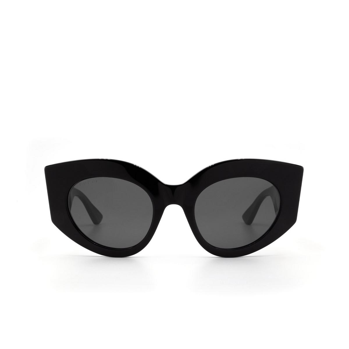 Gucci® Cat-eye Sunglasses: GG0275S color Black 001 - 1/3.