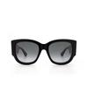 Gucci® Square Sunglasses: GG0276S color Black 001 - product thumbnail 1/3.
