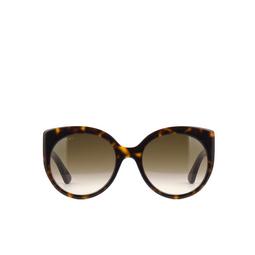 Gucci® Sunglasses: GG0325S color Havana 002.