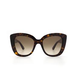 Gucci® Sunglasses: GG0327S color Havana 002.