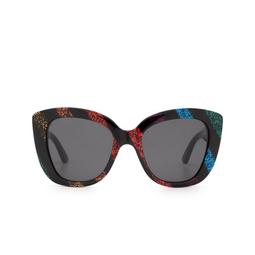 Gucci® Sunglasses: GG0327S color Black Glitter 003.