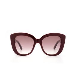 Gucci® Sunglasses: GG0327S color Burgundy 006.