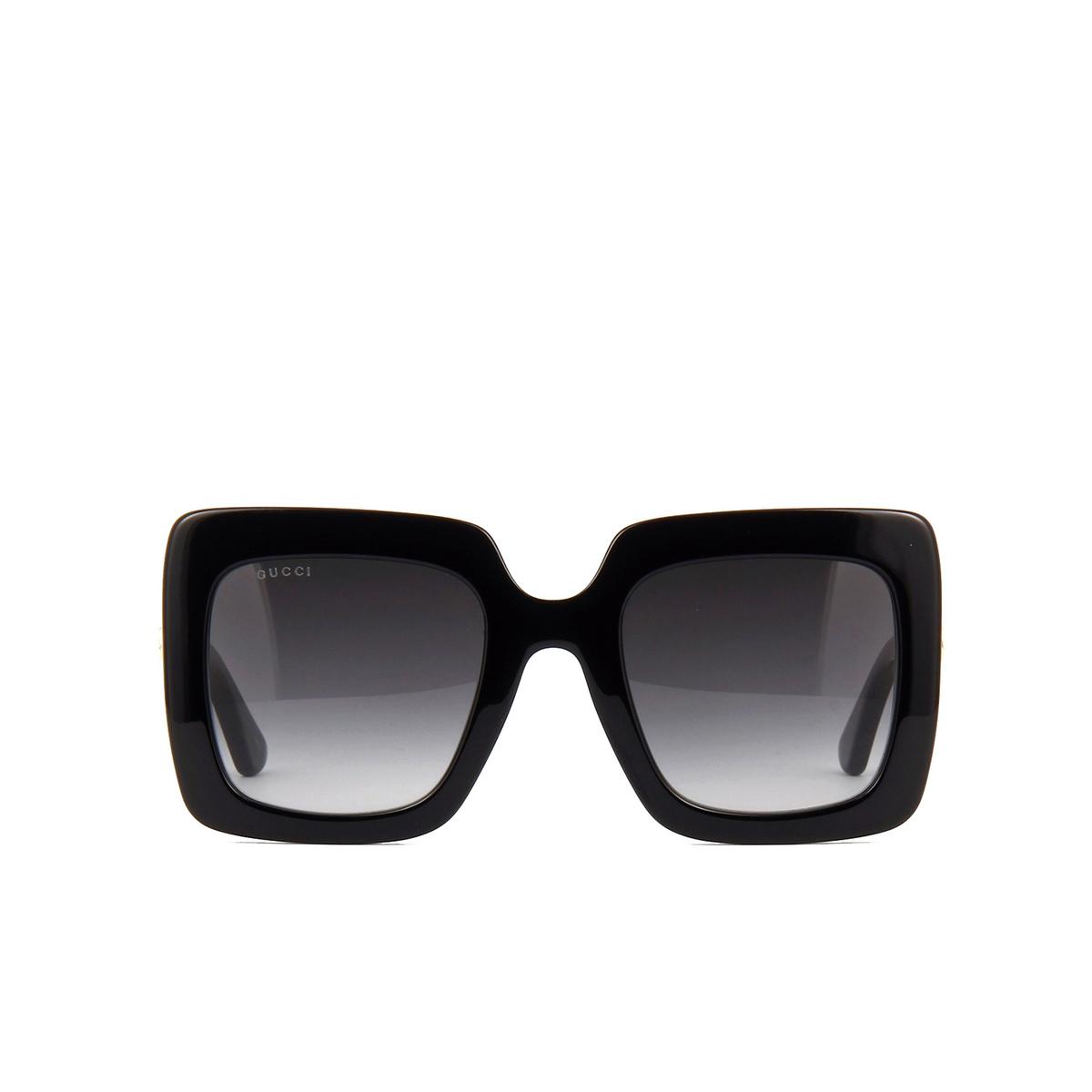 Gucci® Square Sunglasses: GG0328S color Black 001 - 1/3.