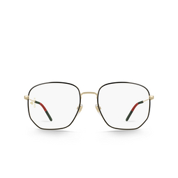 Gucci® Eyeglasses: GG0396O color Gold 001.