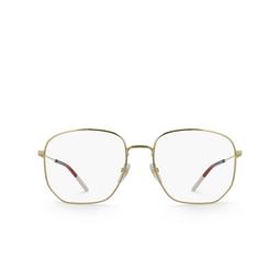 Gucci® Eyeglasses: GG0396O color Gold 002.