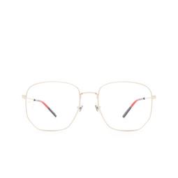 Gucci® Eyeglasses: GG0396O color Light Gold 003.