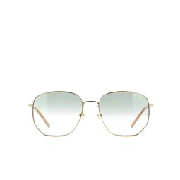 Gucci® Sunglasses: GG0396S color Gold 002.