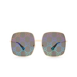 Gucci® Sunglasses: GG0414S color Gold 003.