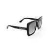Gucci® Square Sunglasses: GG0418S color Black 001 - product thumbnail 2/3.