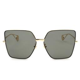 Gucci® Sunglasses: GG0436S color Gold 002.