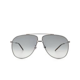 Gucci® Aviator Sunglasses: GG0440S color Ruthenium 005.