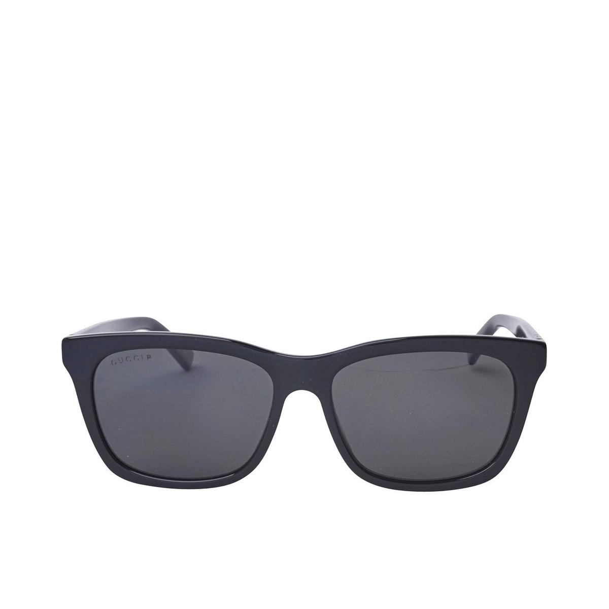 Gucci® Square Sunglasses: GG0449S color Black 002 - 1/2.
