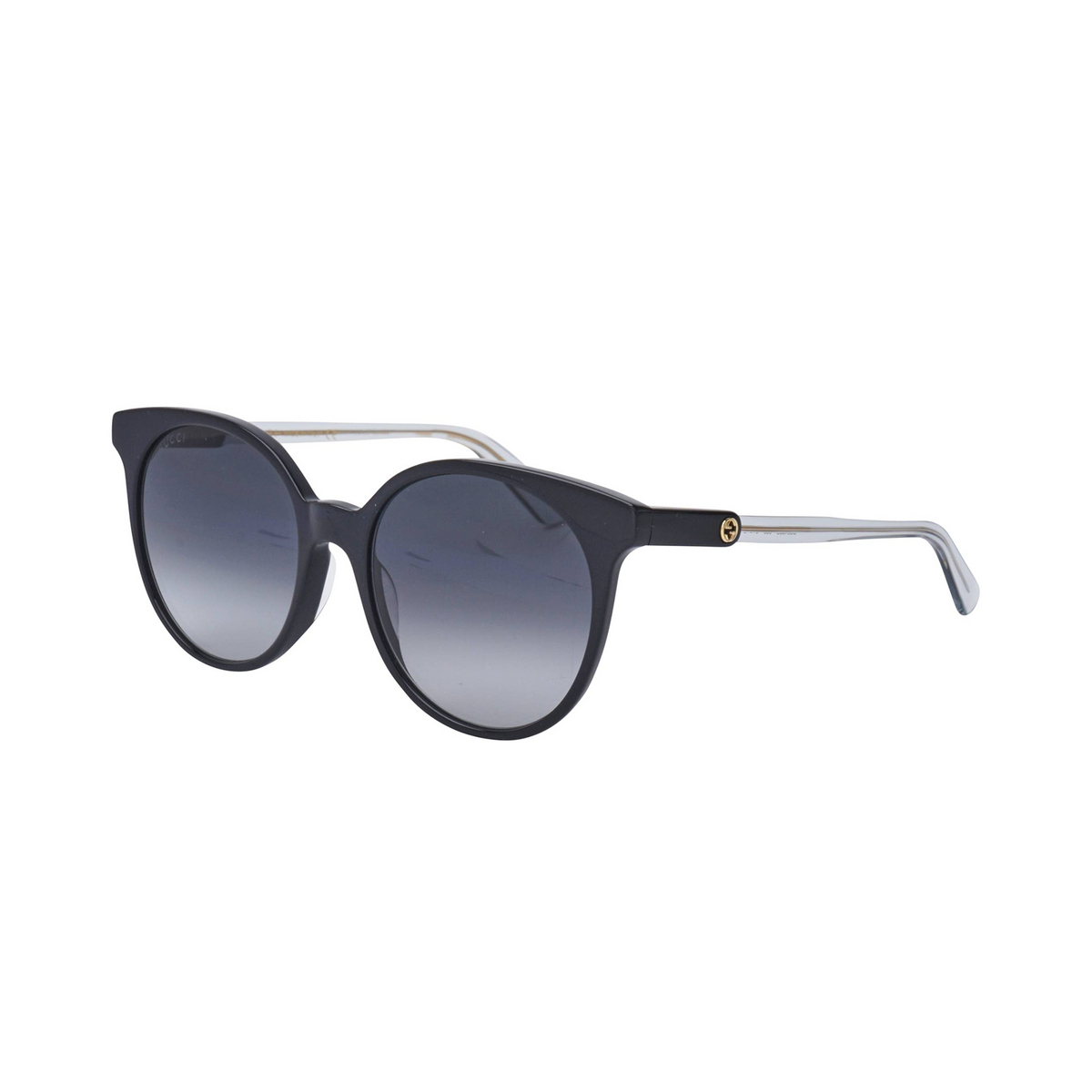 Gucci® Cat-eye Sunglasses: GG0488S color Black 005 - 2/3.