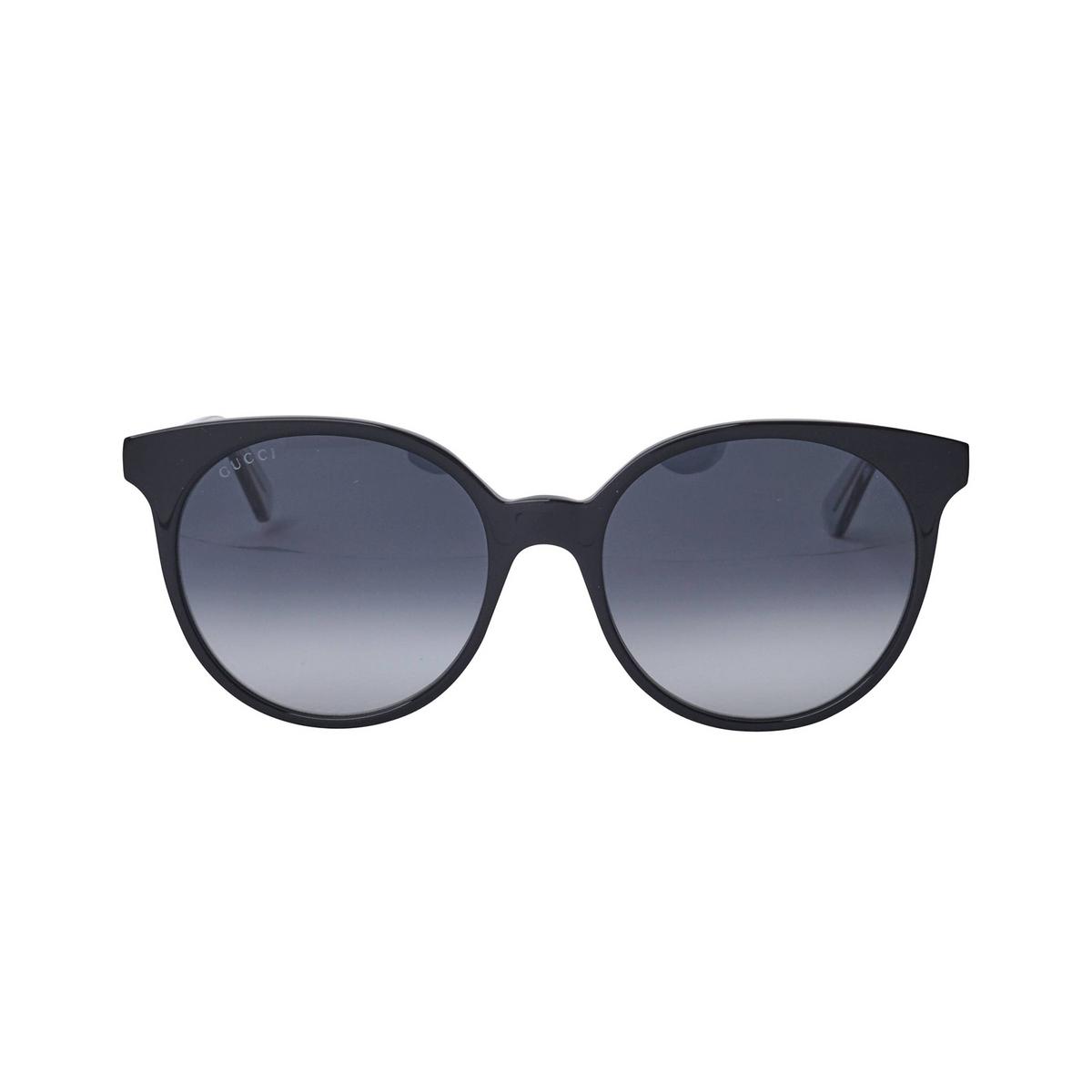 Gucci® Cat-eye Sunglasses: GG0488S color Black 005 - 1/3.
