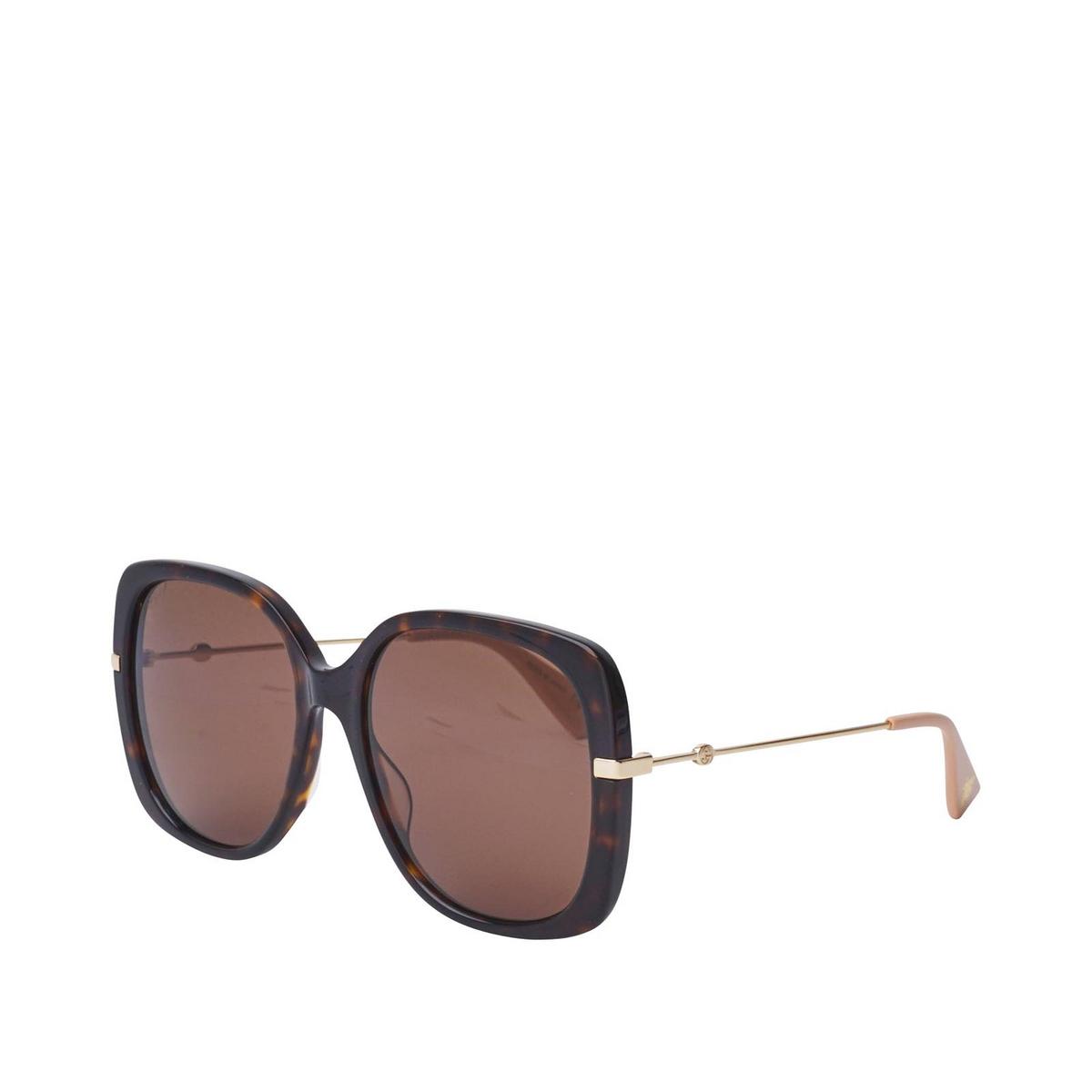 Gucci® Square Sunglasses: GG0511S color Dark Havana 003 - 2/2.