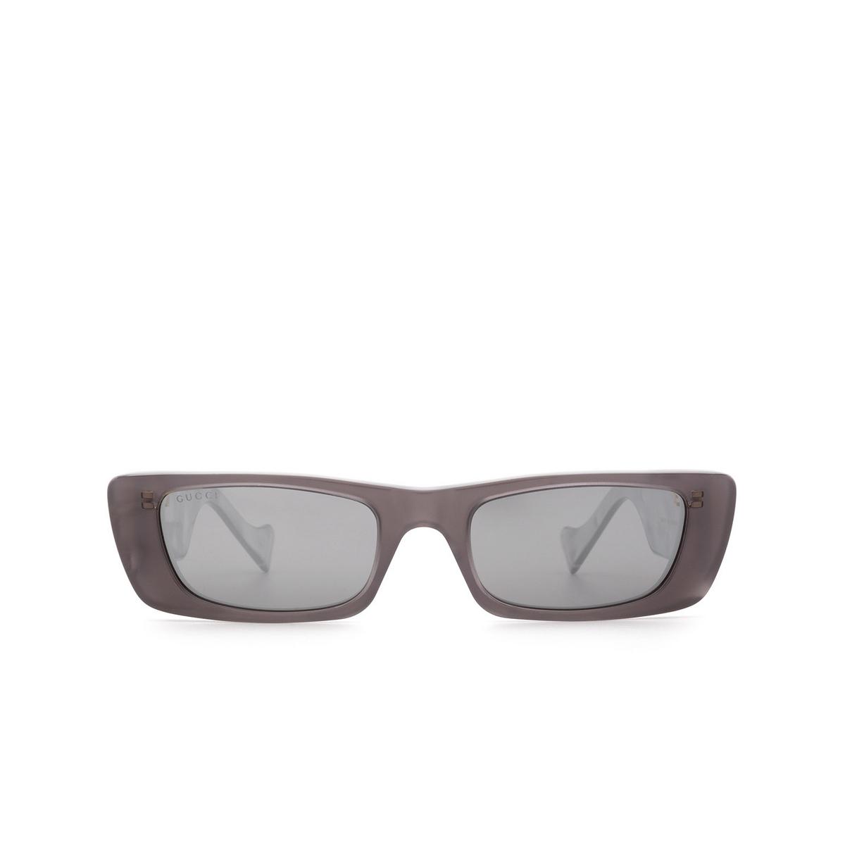 Gucci® Rectangle Sunglasses: GG0516S color Grey 002.