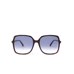 Gucci® Sunglasses: GG0544S color Burgundy 003.
