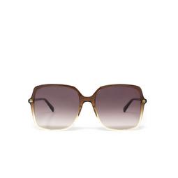 Gucci® Sunglasses: GG0544S color Brown 004.