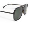 Gucci® Aviator Sunglasses: GG0545S color Havana 002 - product thumbnail 3/3.
